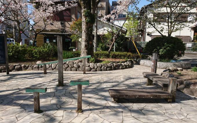 鷹匠公園のストレッチ遊具