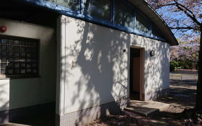 鷹匠公園のトイレ
