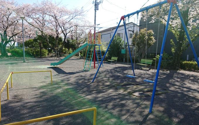鷹匠公園の遊具