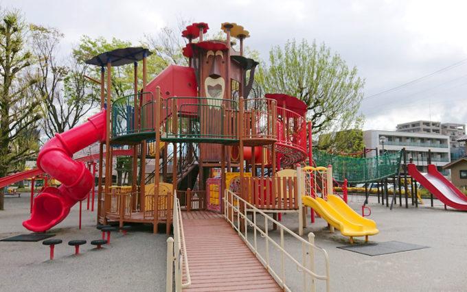 森下公園の遊具