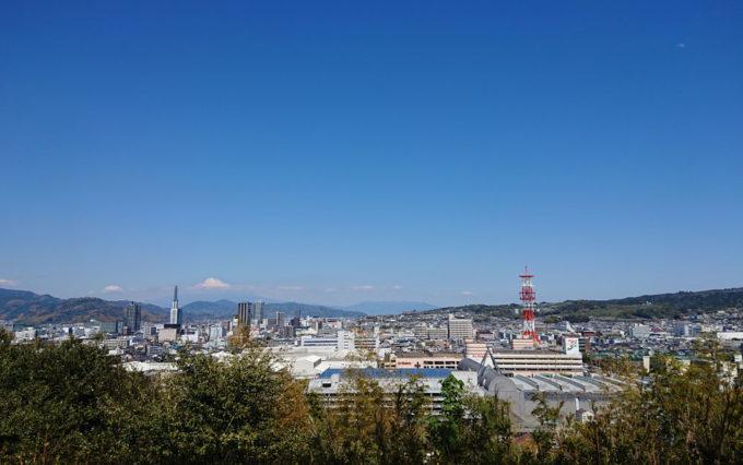 八幡山公園からの景色