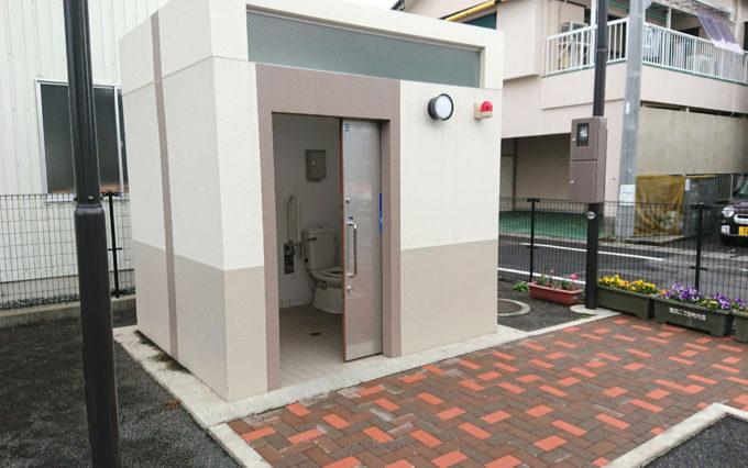 登呂2丁目公園のトイレ