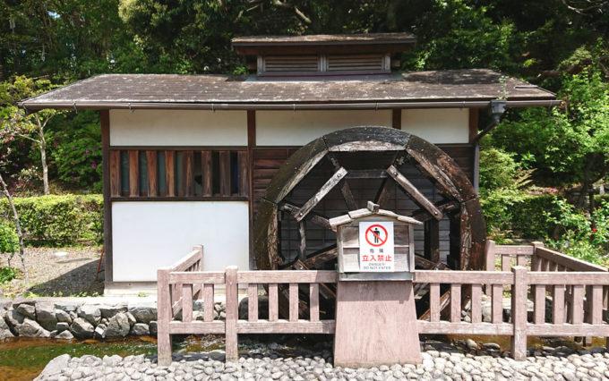 清水山公園の水車