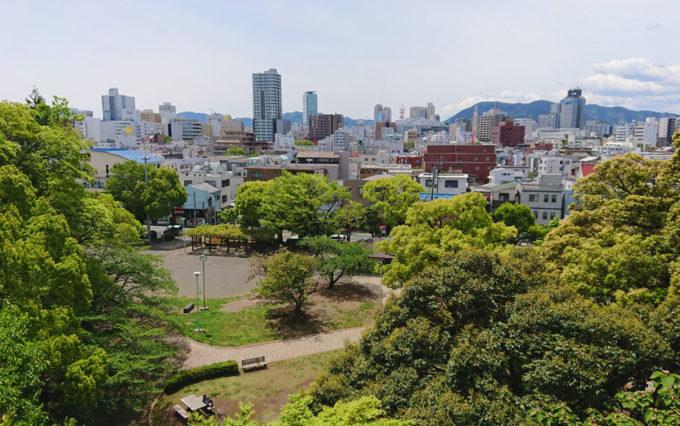 清水山公園からの風景