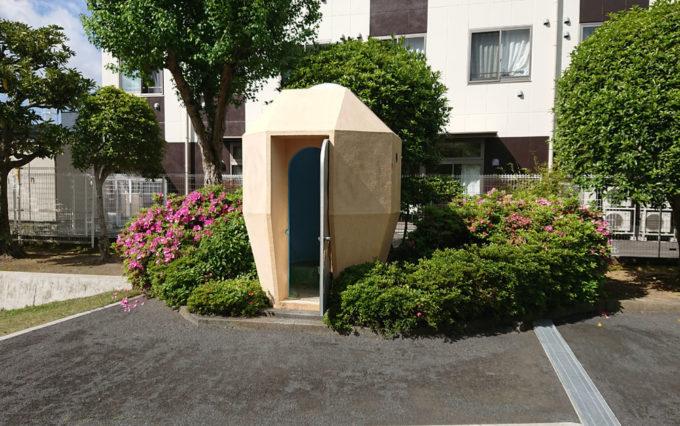 さつき公園のトイレ