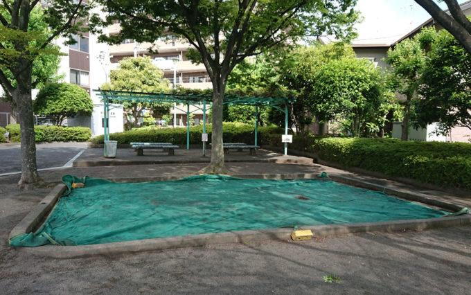 さつき公園の砂場