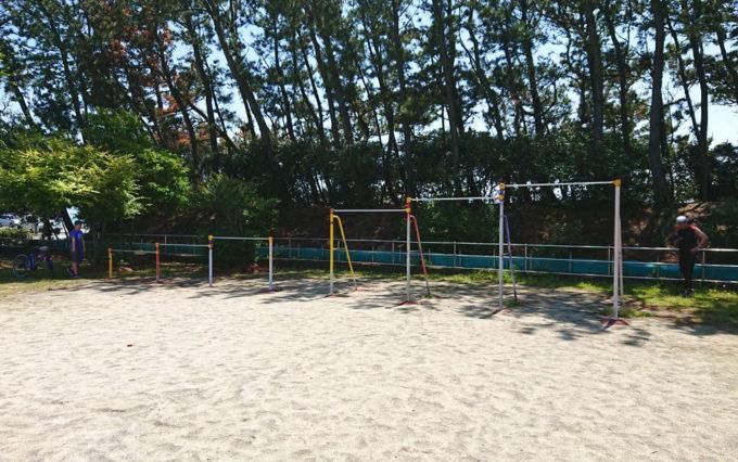 高松南公園の鉄棒