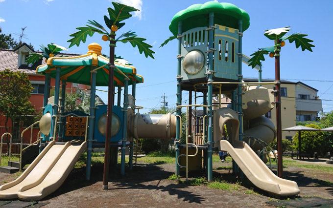高松南公園の複合遊具