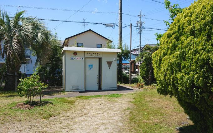高松南公園のトイレ