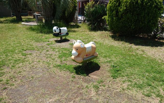 高松南公園の幼児遊具