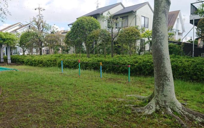 高松若宮公園の鉄棒