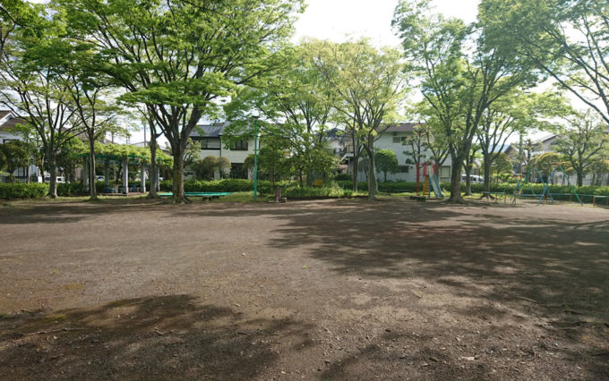 高松若宮公園のグランド