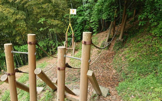 清水日本平公園のアスレチック