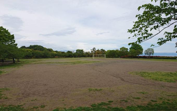 清水日本平公園の多目的広場