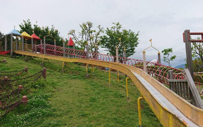 清水日本平公園のすべり台