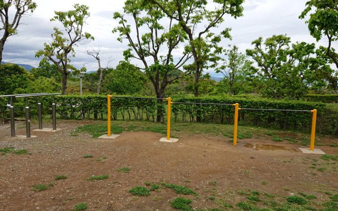 清水日本平公園の鉄棒